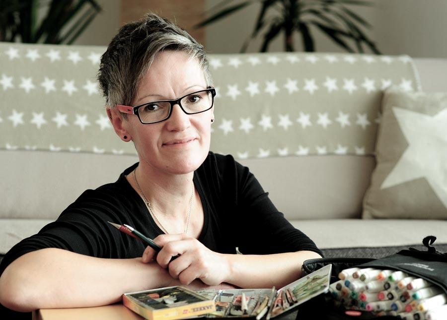Ingeborg Hintersteininger Zeichnen Malen